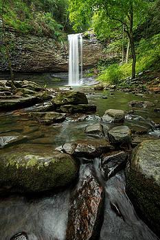 Hemlock Falls by ChrisAntoniniPhotography