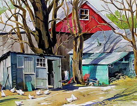 Hen House by Art Scholz