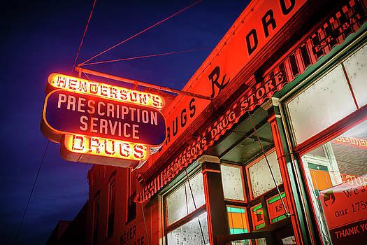 Henderson's Drug Store by Notley Hawkins