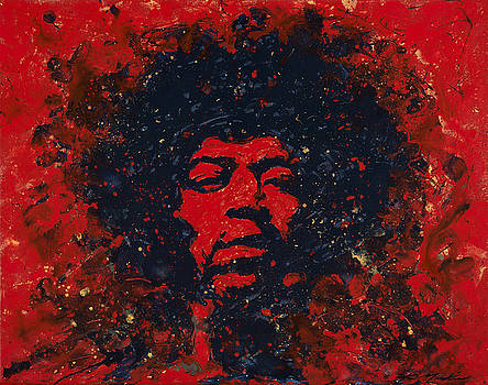 Hendrix by Chris Mackie