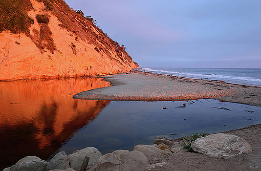 Hendry's Beach Reflections by Kathy Yates