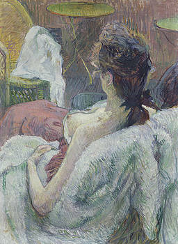 Bishopston Fine Art - Henri de Toulouse-Lautrec - The Model Resting