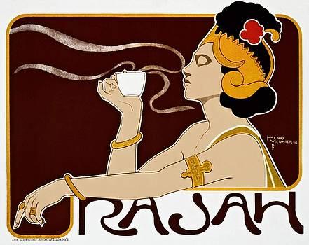 Henri Meunier, Rajah, advertising poster, 1897 by Vintage Printery