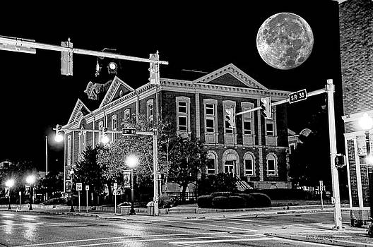 Henry County Courthouse at Night by Mark Orr