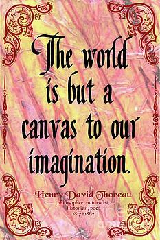 Henry David Thoreau on Imagination, version 2 by Zalman Latzkovich