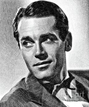 John Springfield - Henry Fonda, Vintage Actor By JS