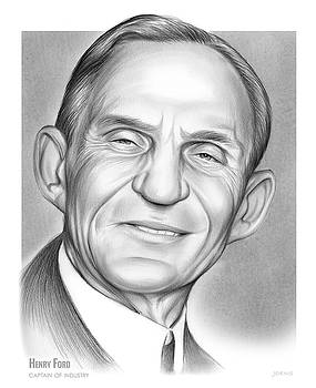 Henry Ford by Greg Joens