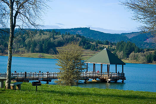 Henry Hagg Lake by Sharon Crawford