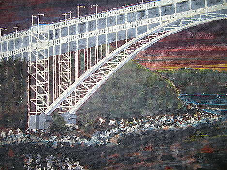 Henry Hudson Bridge by Al Pascucci