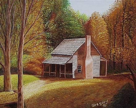 Henry's cabin by Gene Gregory