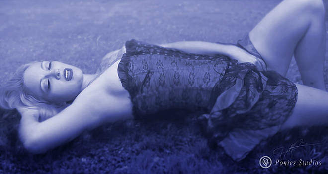 Her Fantasy Blue by Jeremy Martinson
