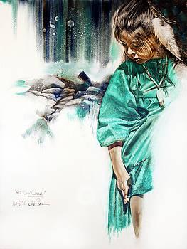 Her New Dress by Virgil Stephens