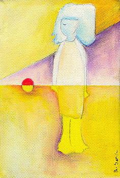 Her Orange Ball by Ricky Sencion