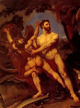 Hercules And Diomedes 1835 by Gros AntoineJean