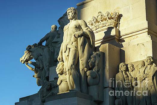 Hercules Monument to the Constitution of 1812 Cadiz Spain by Pablo Avanzini