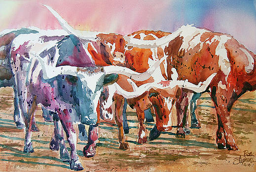 Herd of Horns by Ron Stephens