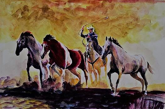 Herdsman by Khalid Saeed