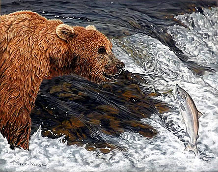 Here comes dinner by Linda Becker