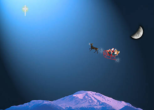 Here Comes Santa   by Adele Moscaritolo