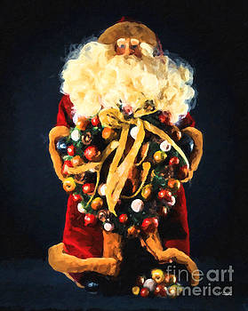 Here comes Santa by Chris Armytage
