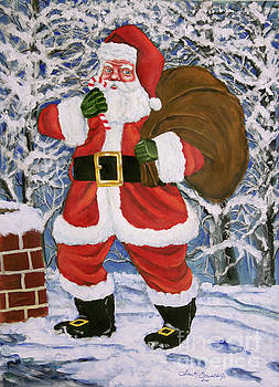 Here comes Santa by Frank Sowells Jr