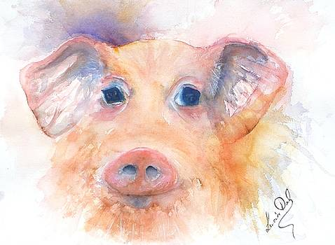 Here Piggy by Lucia Del