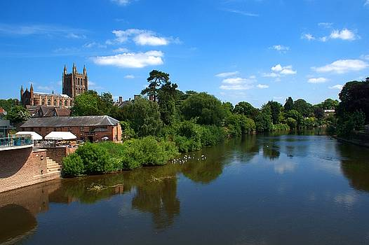 Hereford Skyline by Chris Day