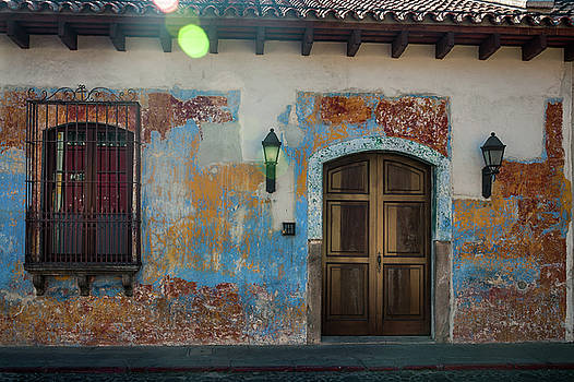 Heritage Facade of a House in Antigua by Daniela Constantinescu