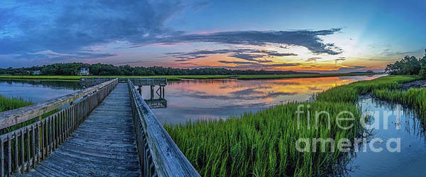 Heritage Shores Nature Preserve Sunrise by David Smith