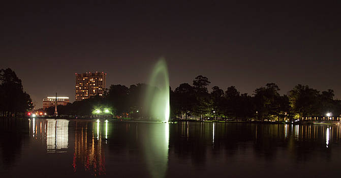 Hermann Park Night Two by Joshua House