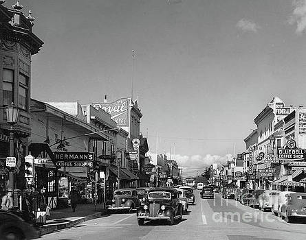 California Views Mr Pat Hathaway Archives - Hermans Coffee Shop,  The Royal Hotel, Blue Bell Coffe Shop,  Alvarado  St.