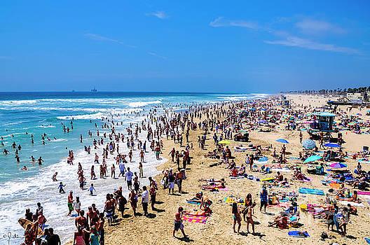 Julian Starks - Hermosa Beach crowd