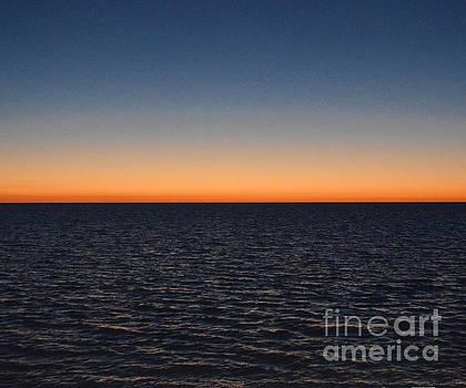 Hernando Beach Sunset 2 by Robert  Suggs