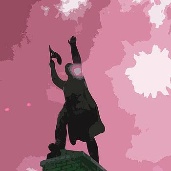 James Hill - Heroic Communist Statue