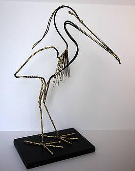 Heron by Buzz Leighton