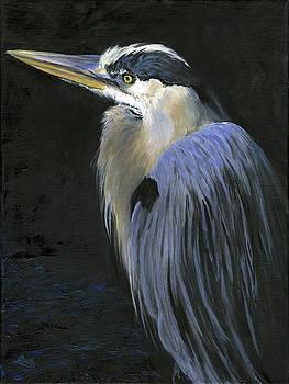 Heron By Moonlight by Deborah Butts