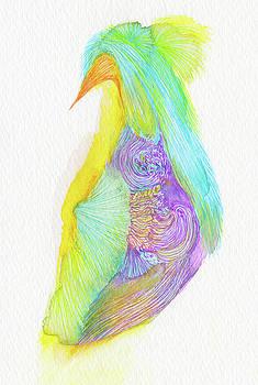 Heron - #SS16DW038 by Satomi Sugimoto