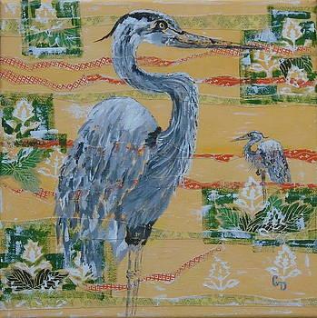 Heron Wood by Georgia Donovan