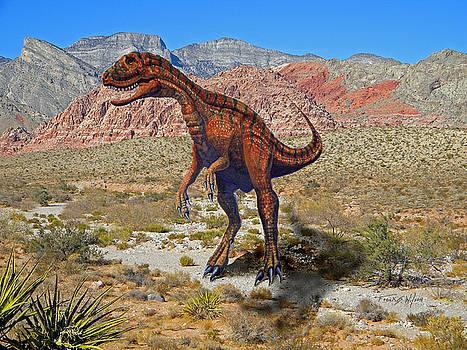 Frank Wilson - Herrarsaurus In Desert