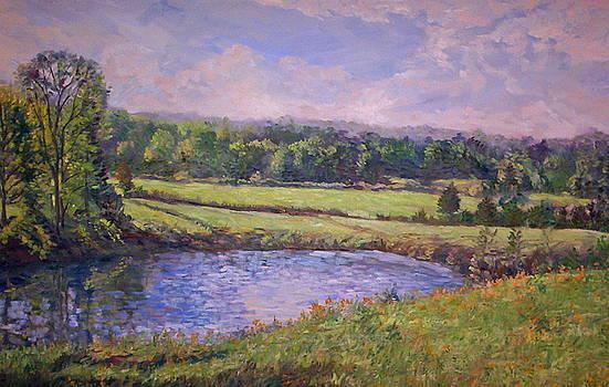 Herzig Pond by Roseann Berluti