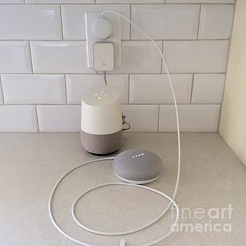 Hey Google Home Mom Its Google mini please don't abort me by Richard W Linford