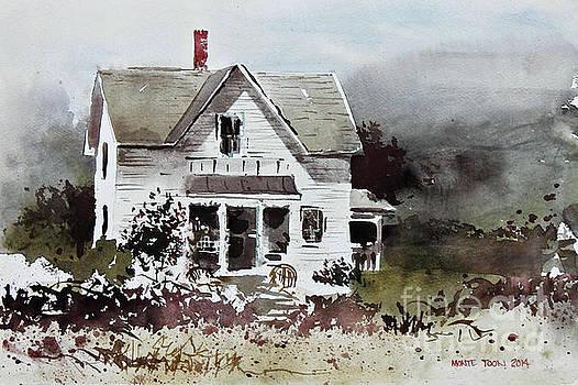 Heyl House, Minneapolis, Kansas by Monte Toon