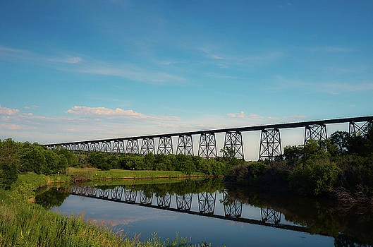 Hi-Line Bridge by Betsy Armour