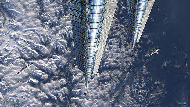 James Vaughan - Hi-Rise in Space - Asgardia