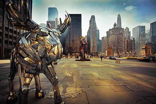 Hi Tech Moose by Taras Khlibovych