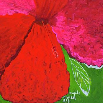 Hibiscus Closeup by Angela Annas