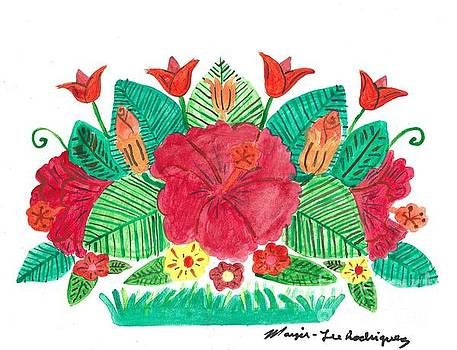 Artists With Autism Inc - Hibiscus