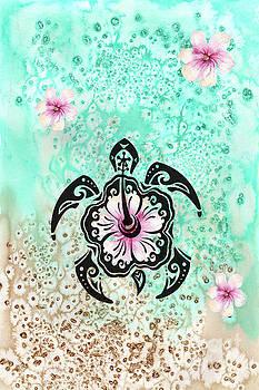 Hibiscus Turtle by Kelley Freel-Ebner