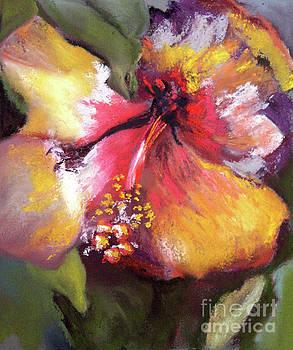 Hibiscus Yellow Glow 11 by Cheryl Yellowhawk