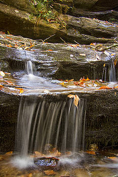 Hidden Falls Detail by Bob Decker